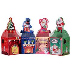 Decorative Christmas Boxes With Lids | XpressionPortal | Christmas ...