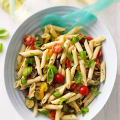 Penne-Salat mit Grillgemüse | BRIGITTE.de