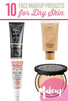 10 Perfect Face Makeup Products for Dry Skin | How To Avoid Flaky And Cakey Look This Winter - Must Have Makeup Products The Pro's Swear By. See more at http://makeuptutorials.com/10-perfect-face-makeup-products-for-dry-skin/