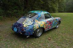 Psychedelic Porsche