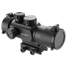 Barska AC12176 - AR-X 1x35mm Multi-Reticle Red/Green Dot Scope