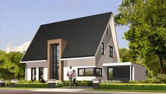 Living Place, Modern House Plans, New Builds, My Dream Home, Future House, Beautiful Homes, Sweet Home, Villa, New Homes
