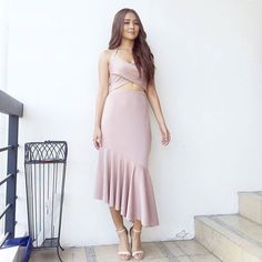 : in for Cinema One ( ) l Owner: Filipina Actress, Filipina Beauty, Kathryn Bernardo Outfits, Dress Outfits, Fashion Outfits, Womens Fashion, Daniel Padilla, John Ford, Girl Crushes