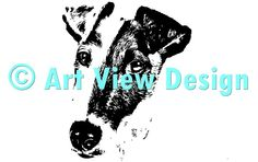 Our Fox Terrier Design || Original and one of a kind || Pattern can be used for everything and every cutting machine || ♡