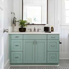 We're loving these popular paint color trends for cabinets and sharing tips for how to choose trendy cabinet colors with timeless staying power.