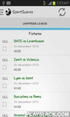 ... is a sports mobile application featuring Europe s most popular football  leagues.Get fixtures fc52d6e3667
