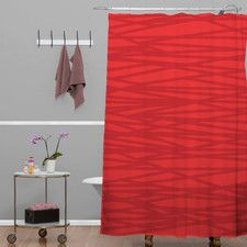 Khristian A Howell Woven Polyester Rendezvous 9 Shower Curtain