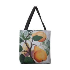 "Garden Goods ""Grow a Pear"" Accessories Bag by Ruby Charm Colors Artist Shop"