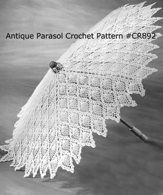 Antique Parasol Pattern Crochet/Pattern/Instructions #CR892 NOT ITEM PATTERN ON   eBay