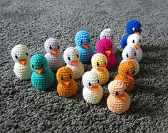This is the simplest crochet duck pattern ever. It doesn't have the refinements of some other ducks you might find but it is quick, easy, and suitable for beginners.