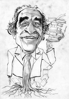 GABRIEL GARCIA MARQUEZ | Victor-Abarca-Ilustraciones