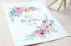 the 11th apartment: An Illustrated Mother's Day Card