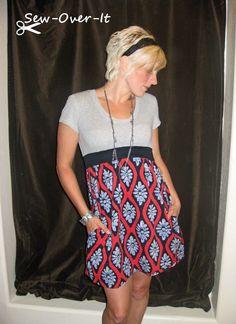 Sew-Over-It: Cute Tee Dress