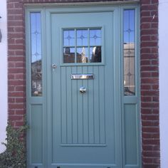 Parking Door Design Home 52 Ideas Cottage Front Doors, Grey Front Doors, Front Door Porch, Front Doors With Windows, Cottage Door, Front Door Entrance, House Front Door, Front Door Colors, House With Porch