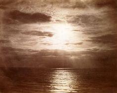 Le Soleil couronné, 1856-57, Gustave Le Gray