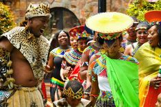 Weddings are important in the lives of humans. They indicate the beginning of the matrimonial life of a person regardless of the gender. However, it& a shame that some Africans have abandoned the richness of African Zulu Wedding, Wedding Attire, Zulu Traditional Wedding, Traditional Outfits, African Love, Tribal Costume, Religion, South African Weddings, African Wedding Dress