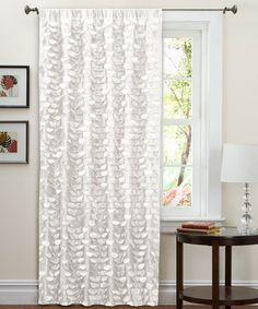 Pink Lillian Curtain Panel | zulily