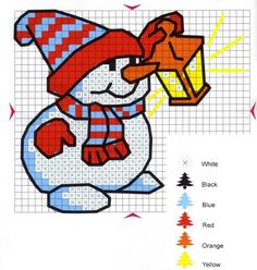 Thrilling Designing Your Own Cross Stitch Embroidery Patterns Ideas. Exhilarating Designing Your Own Cross Stitch Embroidery Patterns Ideas. Snowman Cross Stitch Pattern, Xmas Cross Stitch, Cross Stitch Cards, Cross Stitching, Cross Stitch Embroidery, Embroidery Patterns, Snowman Patterns, Animal Patterns, Loom Patterns