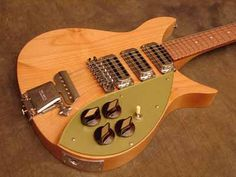 Rickenbacker 325 C58 - remake of a classic hollow body electric guitar.