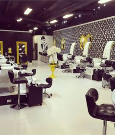 Strict sanitation procedures are behind the fun decor at Laque Nail Bar, with locations in North Hollywood and Beverly Hills, California.
