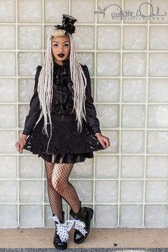 Kawaii Black girl