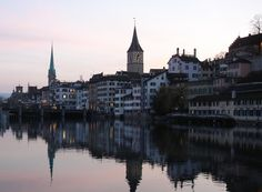 Travel to Zurich and you're in the heart of skiing country. The drama of the Alps surrounds the city, making it the perfect location for planning and booking trips into the surrounding countryside. Work Overseas, Marriott Hotels, Zurich, Best Vacations, Pathways, Alps, Beautiful Landscapes, Switzerland, Countryside
