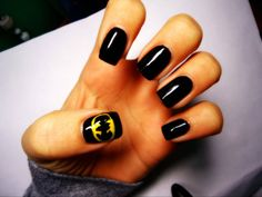 nails+to+die+for | Batman! My favourite! | Nails to die for