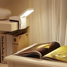 Mini Portable LED Bed Lamp Reading Desk Table Light