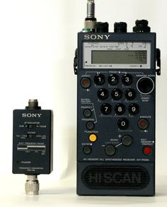 Air Band Scanning Receiver Sony ICF-PRO80
