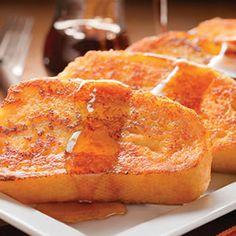 Eggnog-Spiced French Toast