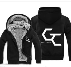 Camplayco Guilty Crown Cosplay Thick Hoodie Warm Coat Size M >>> Visit the image link more details.
