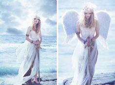 Emily Soto. Angel Warrior, Senior Photos, Fashion Photography, Photoshoot, Style Inspiration, Warriors, Sexy, Angels, Horse