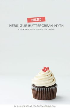 Breaking the Meringue Buttercream Myth | a new approach to a classic recipe | by Summer Stone for TheCakeBlog.com