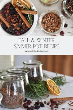 Learn how to make this fall and winter simmering potpourri recipe with spices and herbs from your pantry. All natural non-toxic way to make your home smell amazing for the holidays. Homemade Potpourri, Potpourri Recipes, Simmering Potpourri, Stove Top Potpourri, Dried Orange Slices, Dried Oranges, Christmas Scents, Christmas Decor, Primitive Christmas