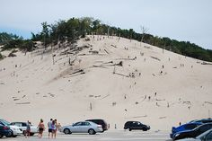 Tower Hill! Warren Dunes State Park - Michigan. I can still feel the sand burning my feet!