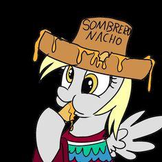"Fun Fact: ""Sombrero Nacho"" translates to ""Nacho Hat""."