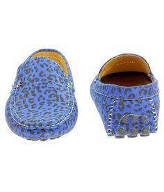 Speed Star Blue Loafers