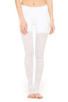 Alo Yoga - Mesh Goddess Legging - Grenache-1
