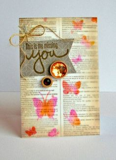 This is Me Missing You card by Nicole Nowosad featuring Jillibean Soup - Soup Staples III and Stamps & Stencils