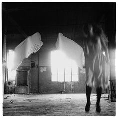 Francesca Woodman, From Angel series, Rome, 1977