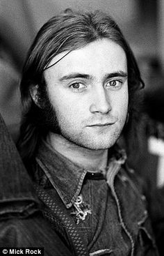 Phil Collins circa 1974...just the drummer