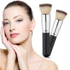Face Powder Blush Makeup Brush Professional Brand New Large Soft Durable Cosmetic Blusher Brush Fundation Make Up Brush Tool