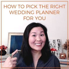 So everyone at this point knows what a wedding planner is, what they do and why you'd hire one.  But what you may not realize is that there are different types of wedding planners. And the one you choose needs to be the right fit for you.  In this video, Jamie Chang, planner at Mango Muse Events, creator of Passport to Joy, and founder of Let's I Do this!, talks about wedding planners, the different types and what you should be looking for. #weddingplanner #weddingplanning Wedding Planners, Wedding Planning Tips, Passport, Perfect Wedding, Muse, The Creator, Destination Wedding, Mango, Advice