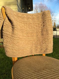A beautiful, unisex baby blanket in Guernsey, or Gansey, patterns. This classic blanket knits up fast in a bulky weight yarn, and the knit/purl pattern provides great texture. The yarn is also machine washable to make things easier for new moms. Easy Knit Baby Blanket, Afghan Blanket, Knitted Afghans, Knitted Baby Blankets, How To Purl Knit, Knit Purl, Classic Blankets, Easy Knitting Patterns, Chunky Yarn