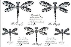 """Tattoo size 6.30""""x6.30"""" Long last realistic temporary tattoo stickers non-toxic and waterproof female models black and white letters Green Dragonflies totem fake tattoo. Safe and non-toxic design ideal for body art. Professional grade made to last 3 to 5 days and easily transferred by water. Perfect for vacations, girls night, pool parties, bachelorette parties, or any other event you want to look glamorous."""