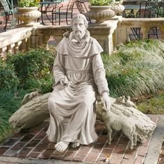 Design Toscano In Natures Sanctuary St. Francis Garden Statue - KY1390