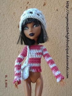 Ropa para Monster High s435 de My Monster High boutique por DaWanda.com
