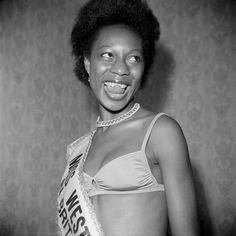 Photos of London's black beauty pageants in the 50s.