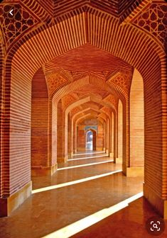Islamic Architecture, Beautiful Architecture, Shah Jahan Mosque, Eid Mubarik, Pakistan Travel, Glazed Tiles, Purple Backgrounds, Ceiling Decor, Decorative Tile