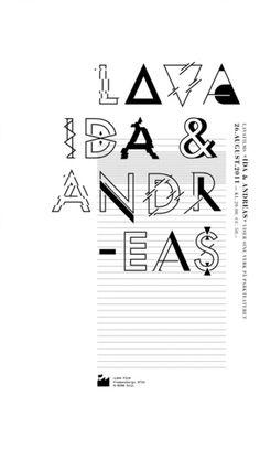 lavafilm poster by bureau bruneau